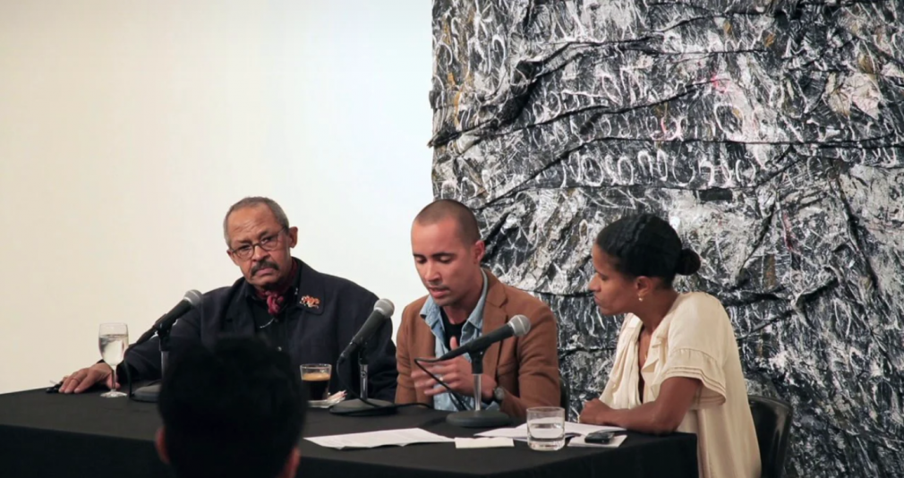 Angel Otero and Jack Whitten in conversation