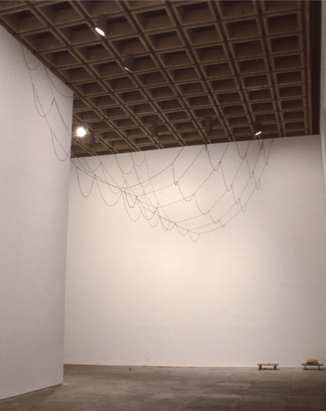 塞西莉亞·ç¶ç´ A Net of Holes, 1997