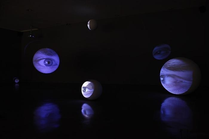 TONY OURSLER Eyes, 1996