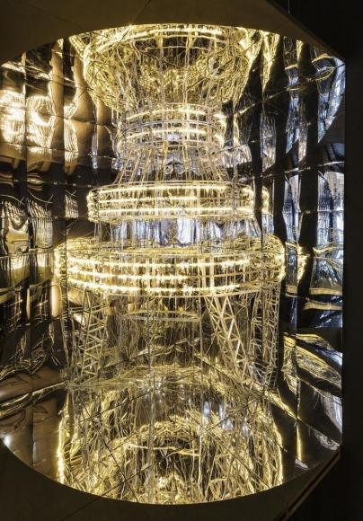 Installation view,Into Lattice Sun(2015)