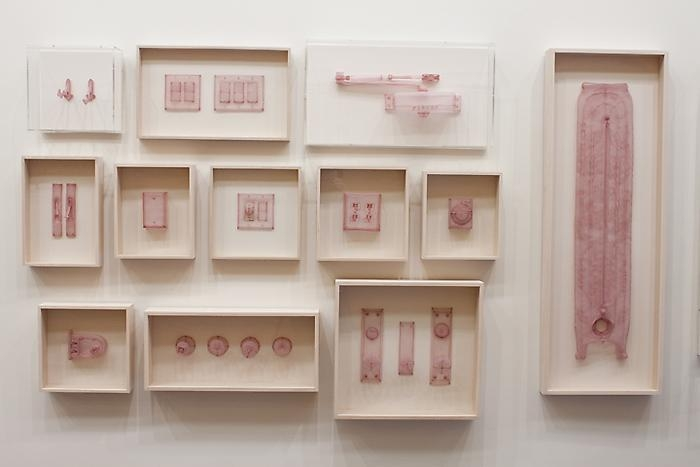 DO HO SUH Specimen Series: New York City Corridor -1 , 2011 polyester fabric dimensions variable Edition of 3 LM15217