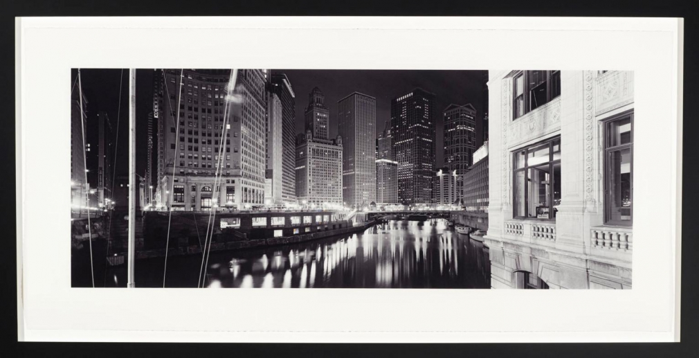 Catherine Opie, Untitled 1 (Chicago) from American Cities series, 2004–05, Iris print, 14 prints, each: 22 x 46 ½ in. (55.9 x 11.8 cm), Framed: 27 x 51 ½ x 1 ½ in. (68.6 x 130.8 x 3.8 cm)
