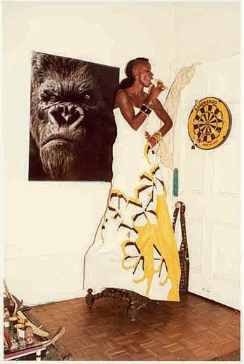 JUERGEN TELLER Zoe with Gorilla and Banana, Brighton, 2007