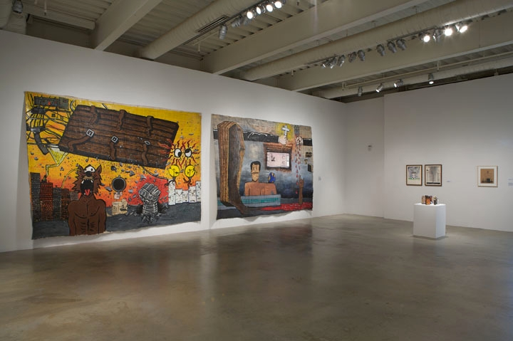 Tim Rollins and K.O.S.: A History Installation view at ICA Philadelphia, 2009