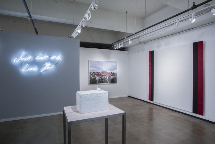 Installation view, Dallas Art Fair,April 7-9, 2017