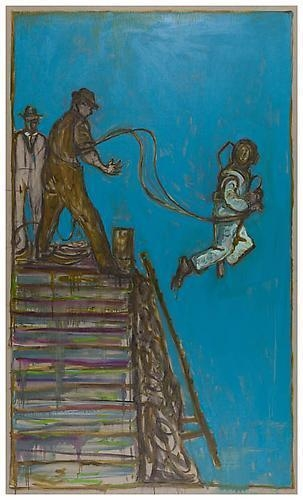 BILLY CHILDISH Helmet Diver (Leaping), 2011