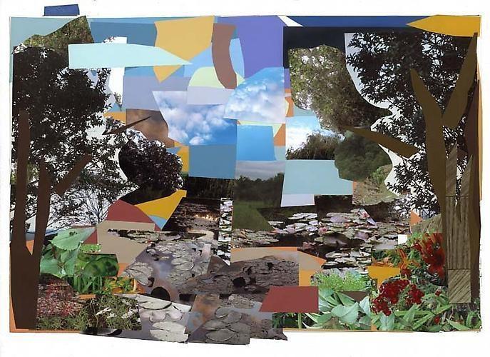 MICKALENE THOMAS Le Jardin d'Eau de Monet, 2011