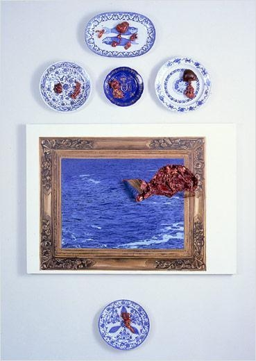 Carne Marinha (cinco pratos), [Marine Meat (five plates)], 1999