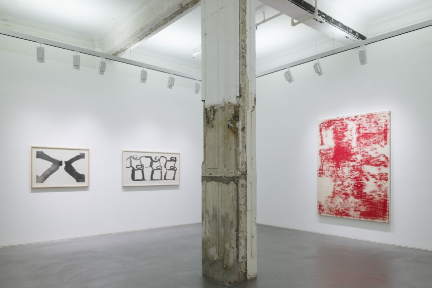 First installation view of the group exhibition be/longing at Lehmann Maupin Hong Kong