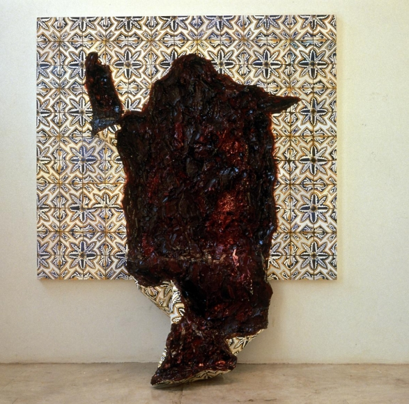 "阿德里安娜·ç""¦èŠå–¬ Tongue with Flower Pattern, 1998"
