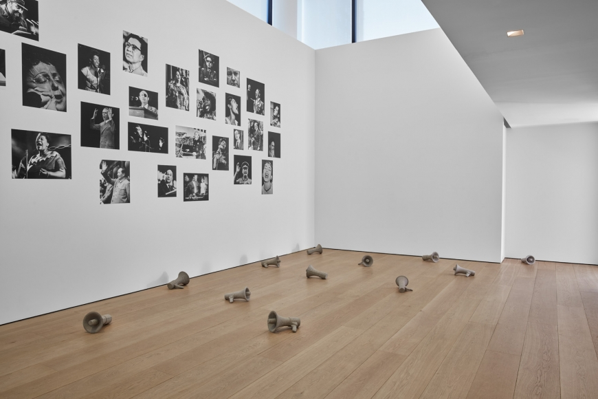 Kader Attia, Mirrors of Emotion, Installation view, Lehmann Maupin, New York