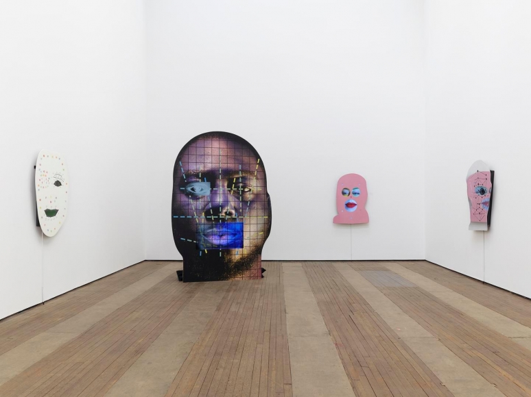 Tony Oursler Installation view 4