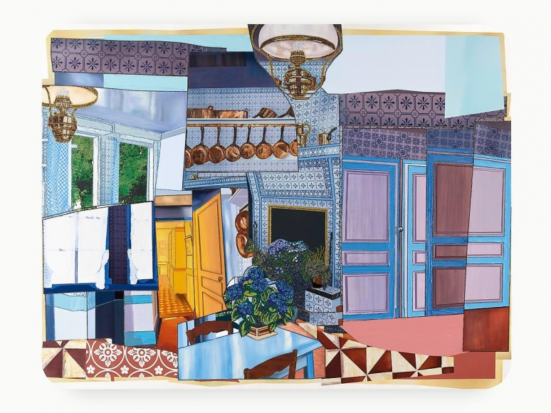 MICKALENE THOMAS Monet's Kitchen, 2014