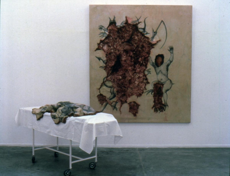 阿德里安娜·瓦萊喬 Extripation of Evil by Incision, 1994