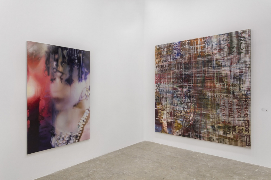 Installation view of Lehmann Maupin's booth at West Bund Art & Design 2019 in Shanghai, view 9