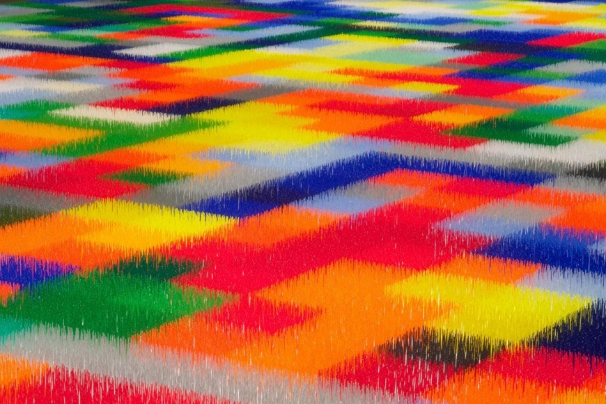 LIZA LOU, Color Field, 2010 – 2013 (detail)