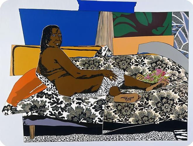 MICKALENE THOMAS Mama Bush: One of a Kind Two, 2009