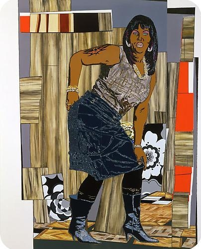 MICKALENE THOMAS All she wants to do is dance (Fran), 2009
