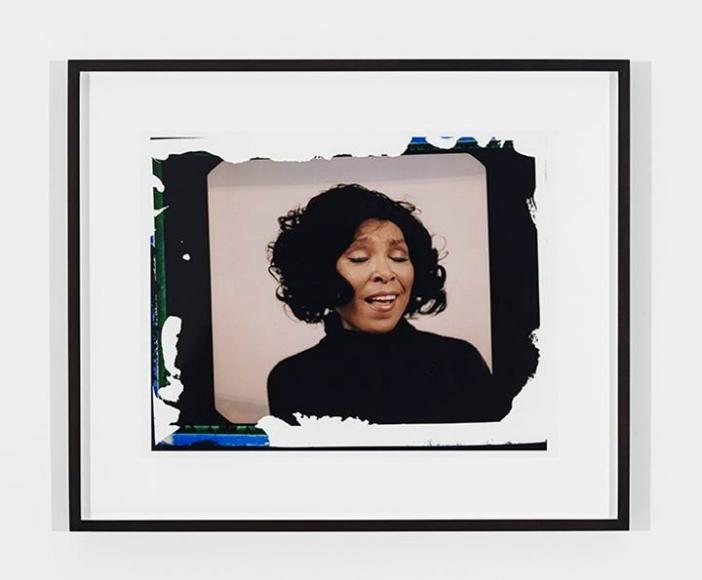 MICKALENE THOMAS Polaroid Series #13, 2016