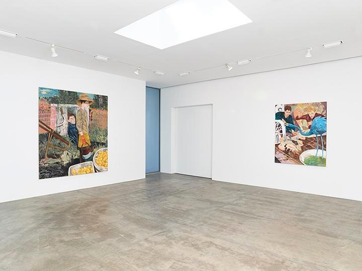 Hernan Bas, Bright Young Things Installation view 4