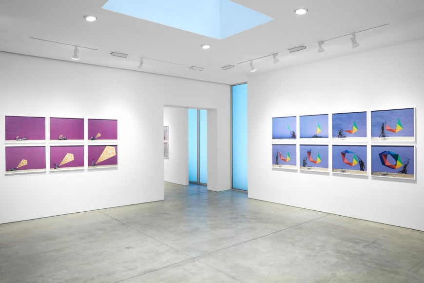 Robin Rhode, The Geometry of Colour installation view 6