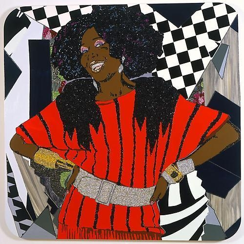 MICKALENE THOMAS Dim all the lights, 2009