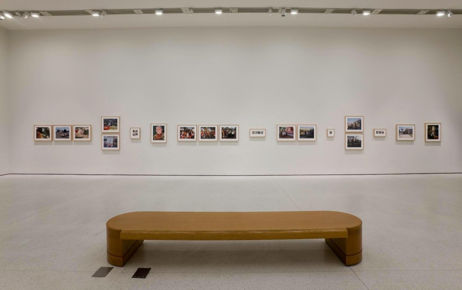 Installation view ofCatherine Opie: American Photographerat the Solomon R. Guggenheim Museum, New York
