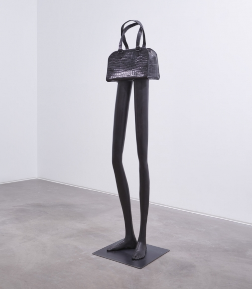 ERWIN WURM, Tall bag YSL, 2019