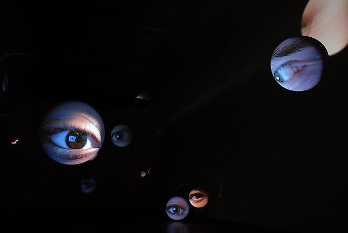 TONY OURSLER Eyes, 1996