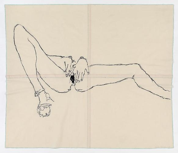 TRACEY EMIN Dark hole, 2009