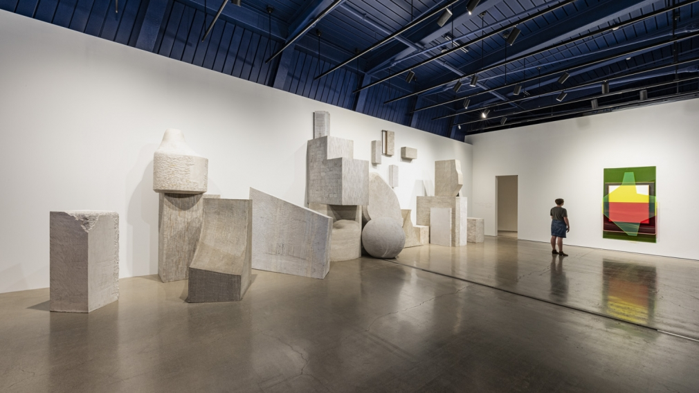 Installation view of Liu Wei Invisible Cities at moCa Cleveland, perspective 11