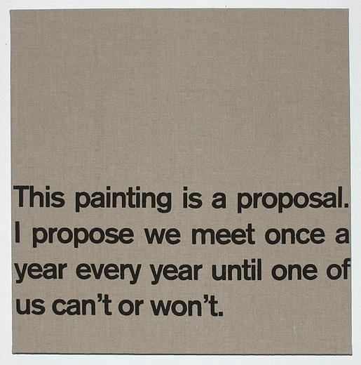 Dave McKenzie, Proposal, 2007
