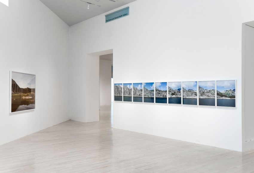 Installation view of Catherine Opie: Figure and Landscape at the Los Angeles County Museum of Art, Los Angeles