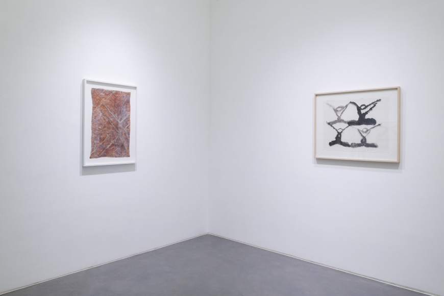 Ninth installation view of the group exhibition be/longing at Lehmann Maupin Hong Kong