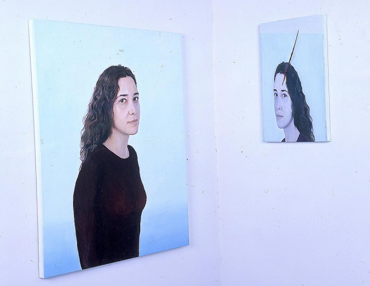 "阿德里安娜·ç""¦èŠå–¬ Duplo Reflexo do Outro , (Double Reflection of the Other), 1999"