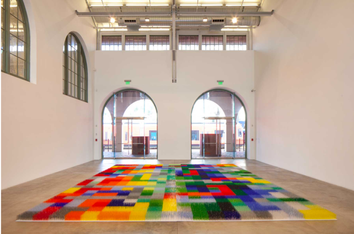 Liza Lou: Color Field, Installation view