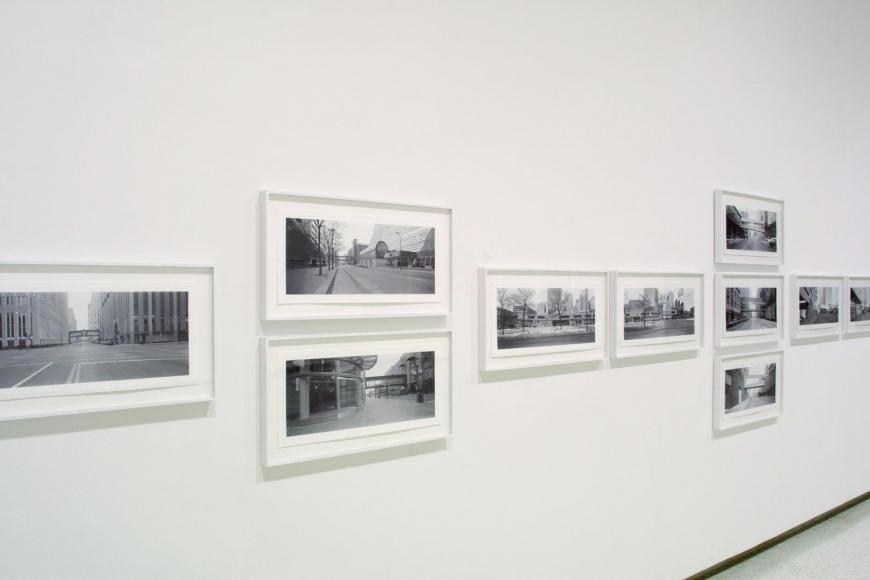 Installation view of Catherine Opie:Skyways & Icehousesat the Walker Art Center, Minneapolis