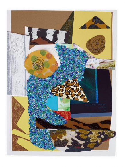 MICKALENE THOMAS, Untitled #11 on Paper, 2016