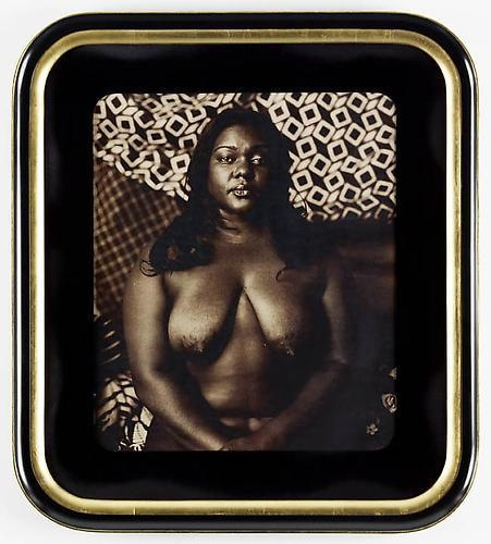 MICKALENE THOMAS Courbet 2 (Melody: Centered), 2011