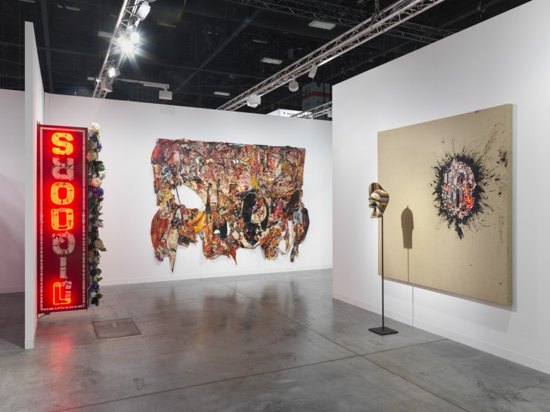 Installation view of Lehmann Maupin's booth at Art Basel Miami Beach 2018, view 3