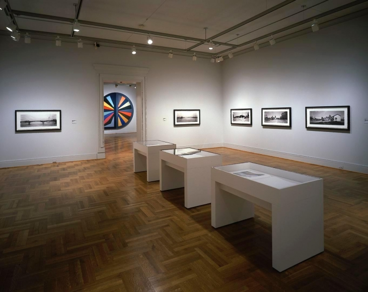 Installation view of Catherine Opie: in between here and thereat the Saint Louis Art Museum, Saint Louis