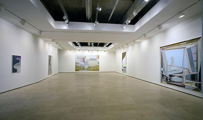 CHRISTIAN HELLMICH: The Array/Transfer-Domino Installation view 1