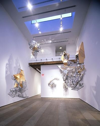 Lee Bul Installation view, Lehmann Maupin Gallery, 201 Chrystie Street