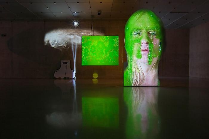 Tony Oursler: LOCK 2,4,6