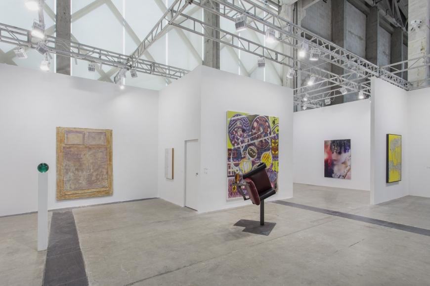 Installation view of Lehmann Maupin's booth at West Bund Art & Design 2019 in Shanghai, view 11