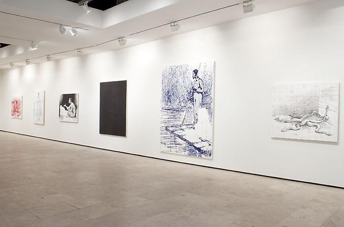 TIM ROLLINS & K.O.S. Installation View 1