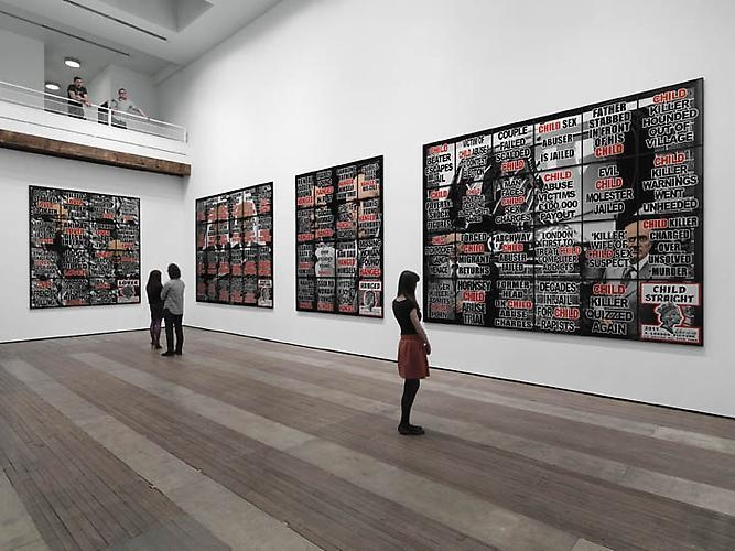 Gilbert & George: London Pictures Installation View 1