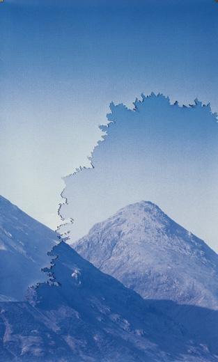 Montagna Blu / Blue Mountain, 2004