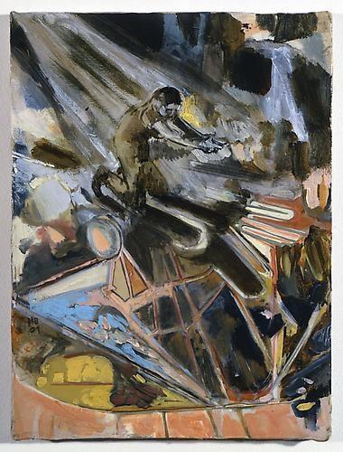 HERNAN BAS The dance of the machine gun, 2009