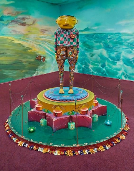 OSGEMEOS O iluminado (The illuminated), 2015